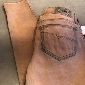 Diesel Jeans. Super slim. Skinny. Low waist.